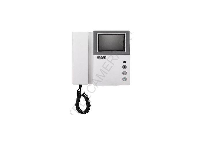 Монитор видеодомофона KOCOM KVM-301 координатный с координатной схемой подключения.